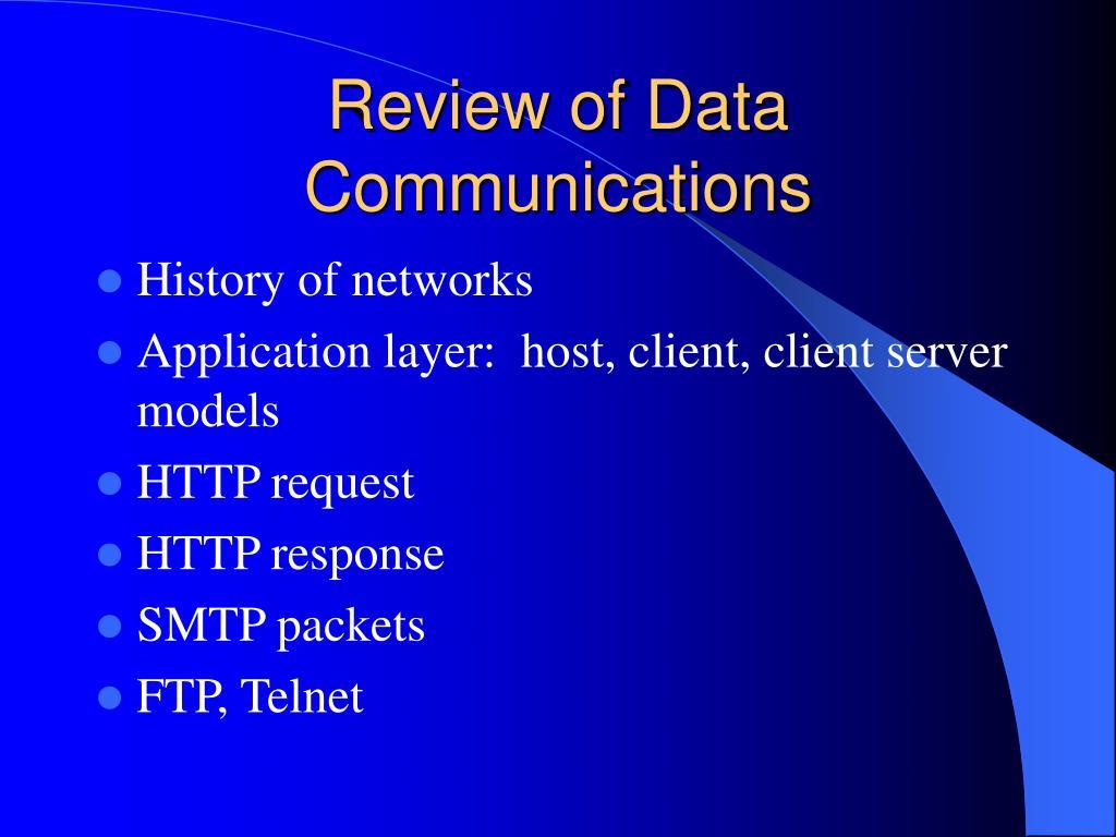 Data Communication & Computer Network