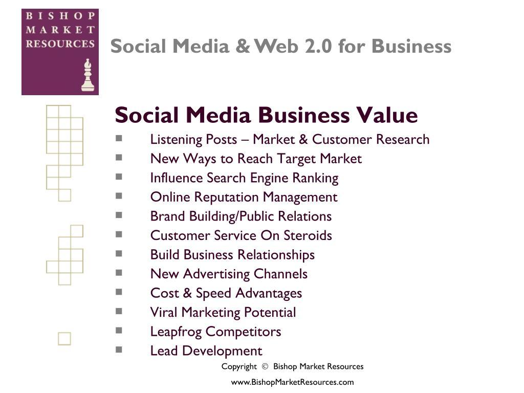 Social Media Business Value