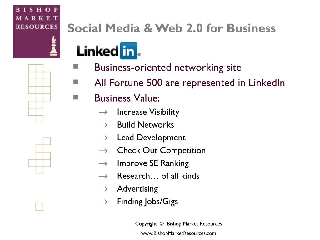 Business-oriented networking site