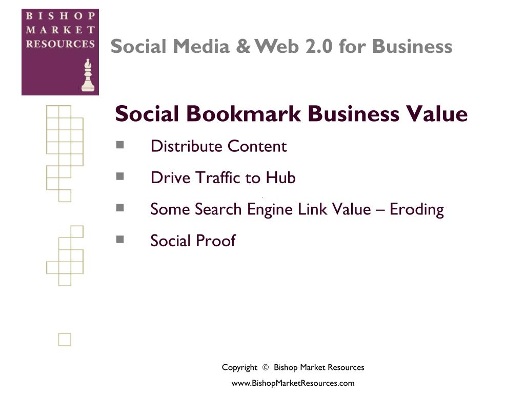 Social Bookmark Business Value