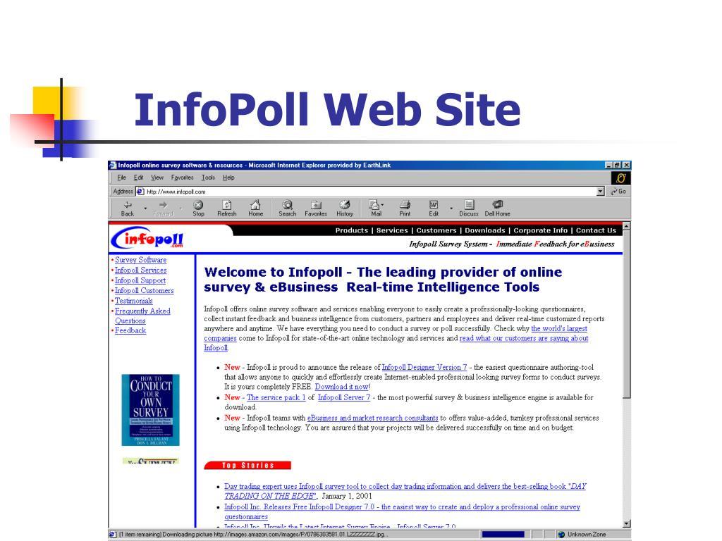 InfoPoll Web Site