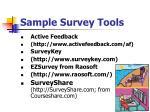 sample survey tools3