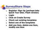 surveyshare steps