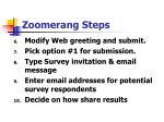 zoomerang steps74