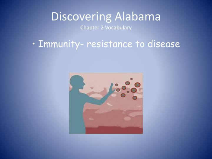 Discovering alabama chapter 2 vocabulary3