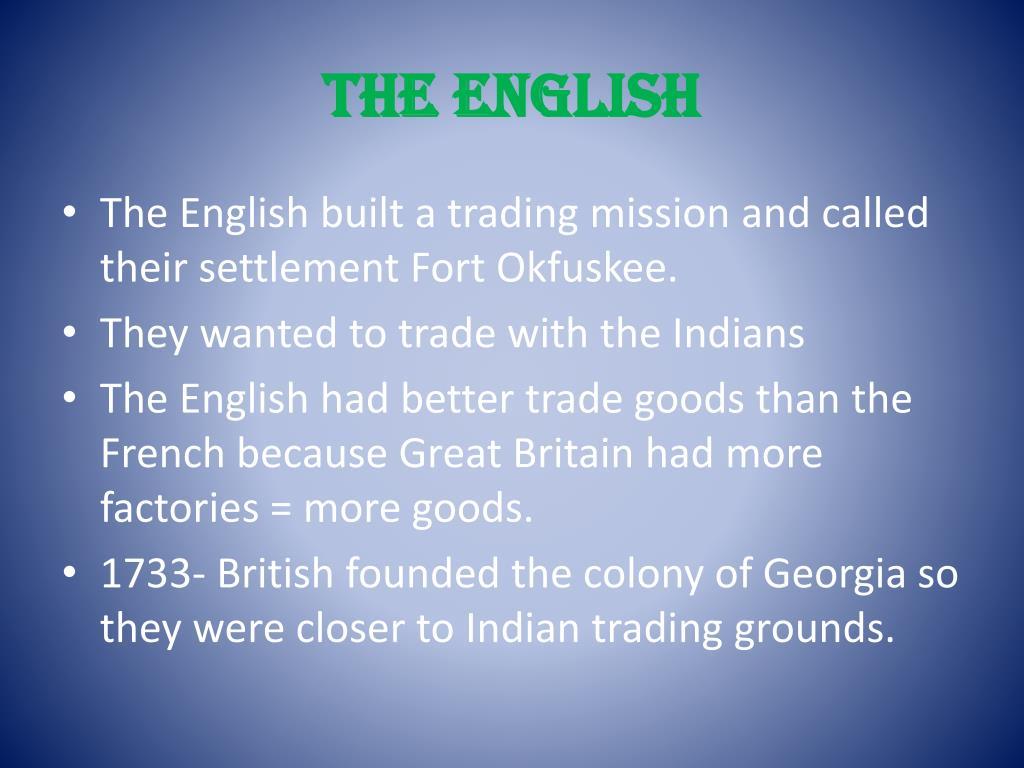 The English