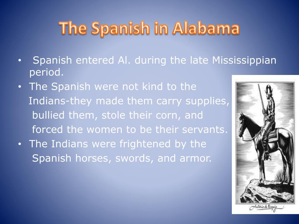 The Spanish in Alabama