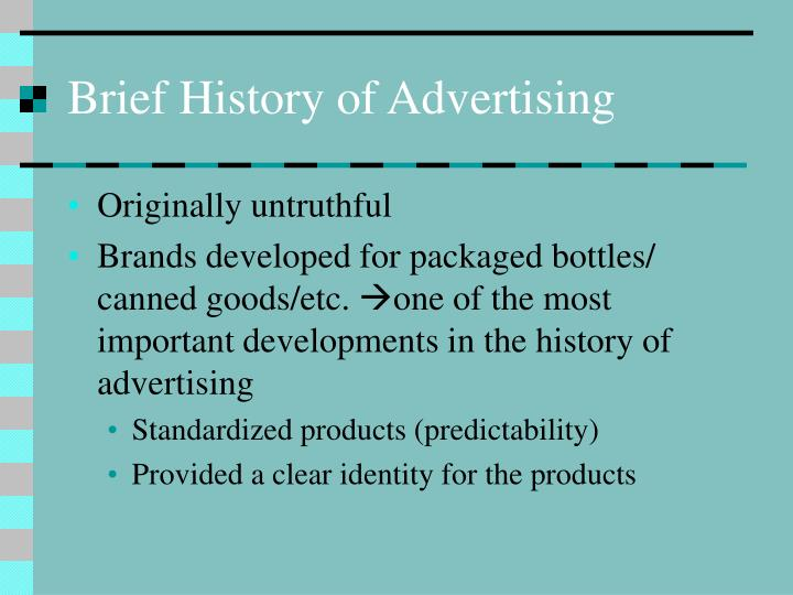 Brief history of advertising l.jpg