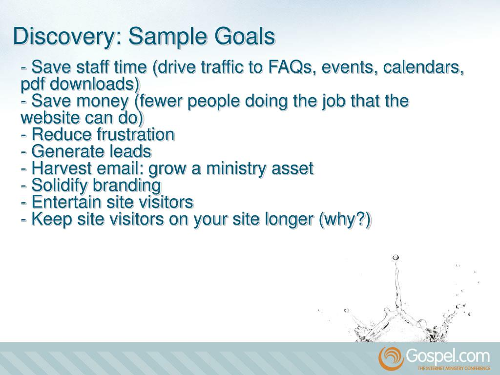 - Save staff time (drive traffic to FAQs, events, calendars, pdf downloads)
