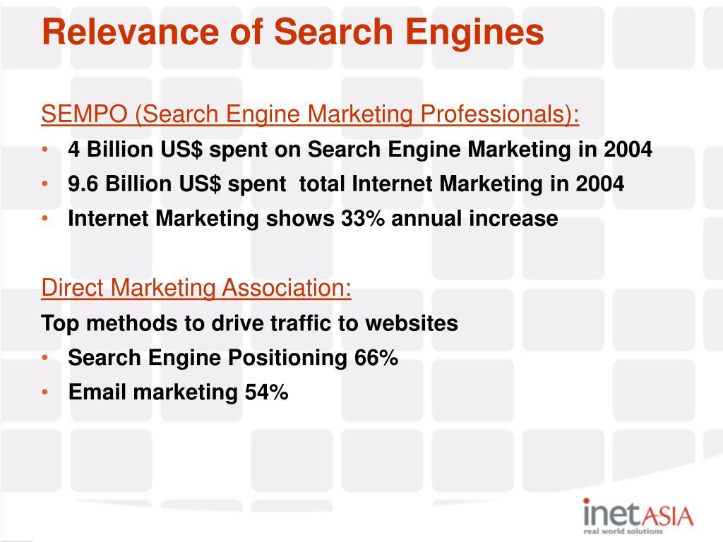 SEMPO (Search Engine Marketing Professionals):