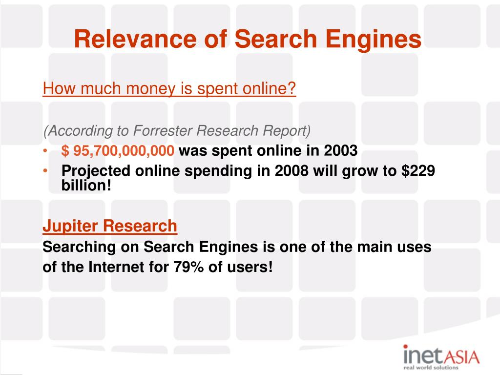 How much money is spent online?