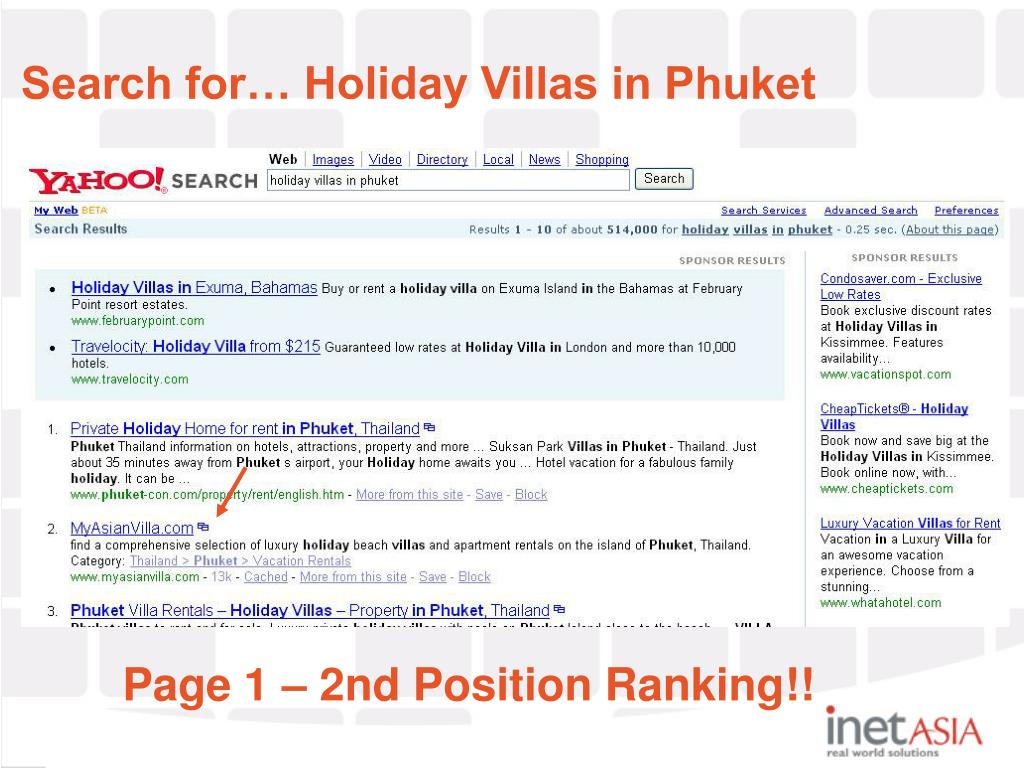 Search for… Holiday Villas in Phuket