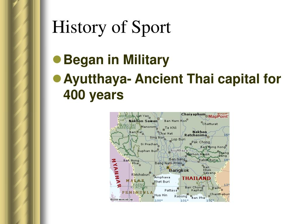 History of Sport