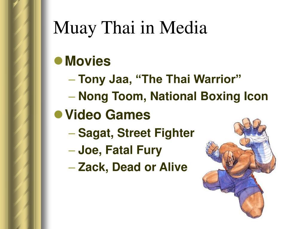 Muay Thai in Media