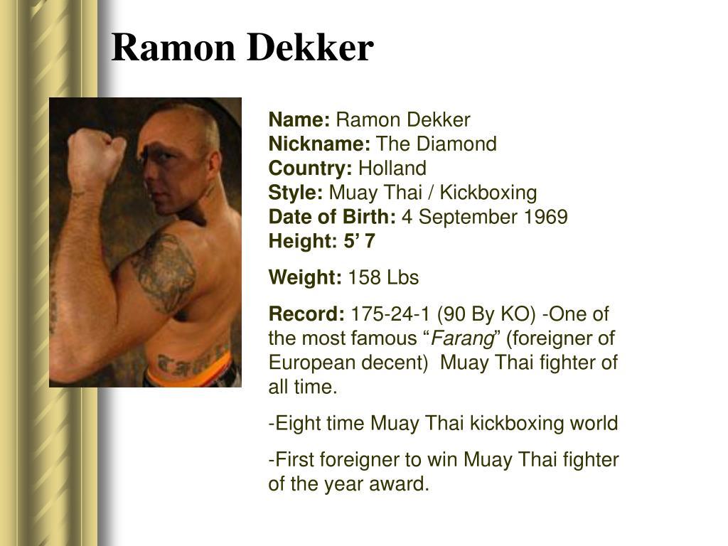 Ramon Dekker