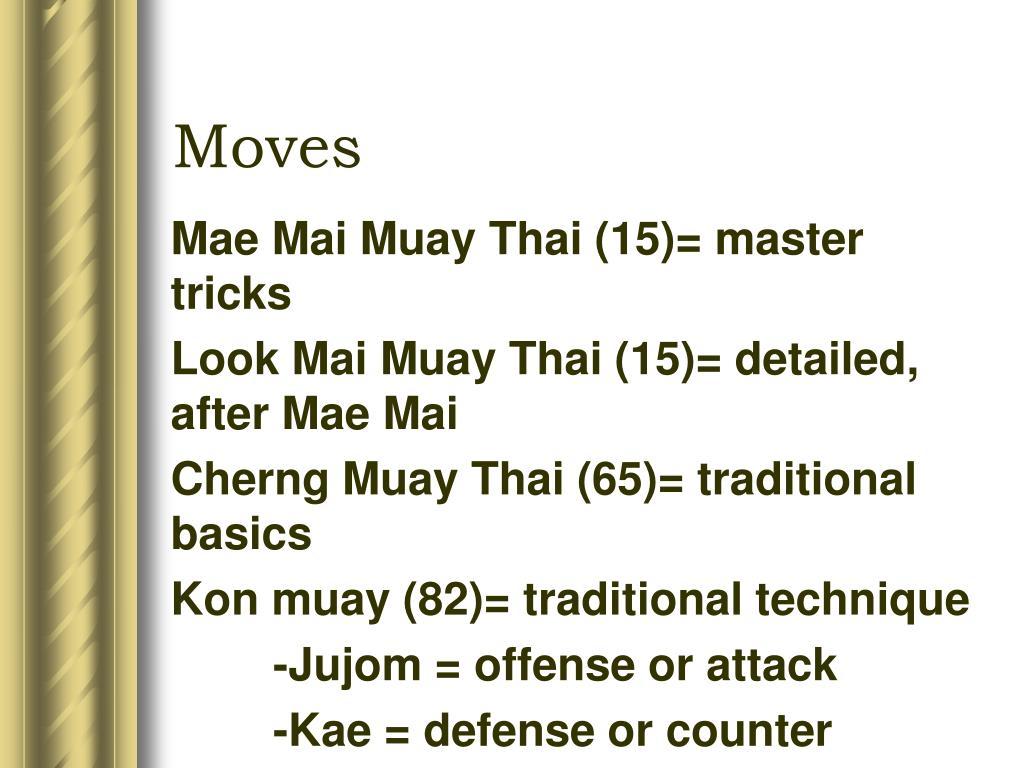 Mae Mai Muay Thai (15)= master tricks