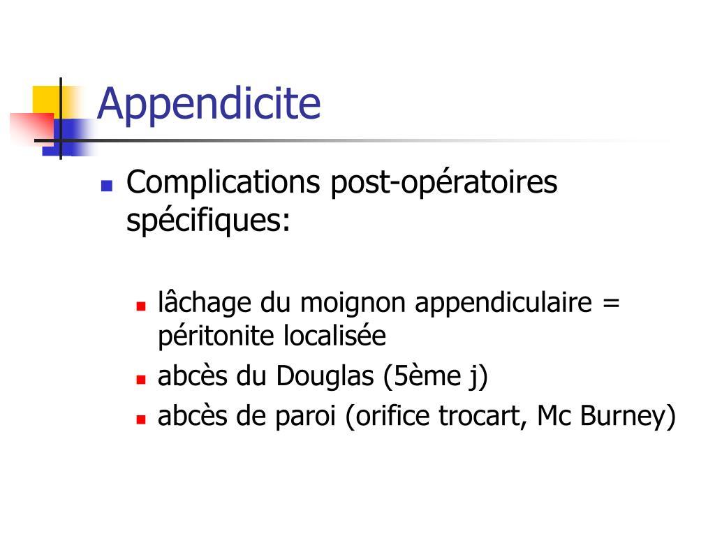 Appendicite