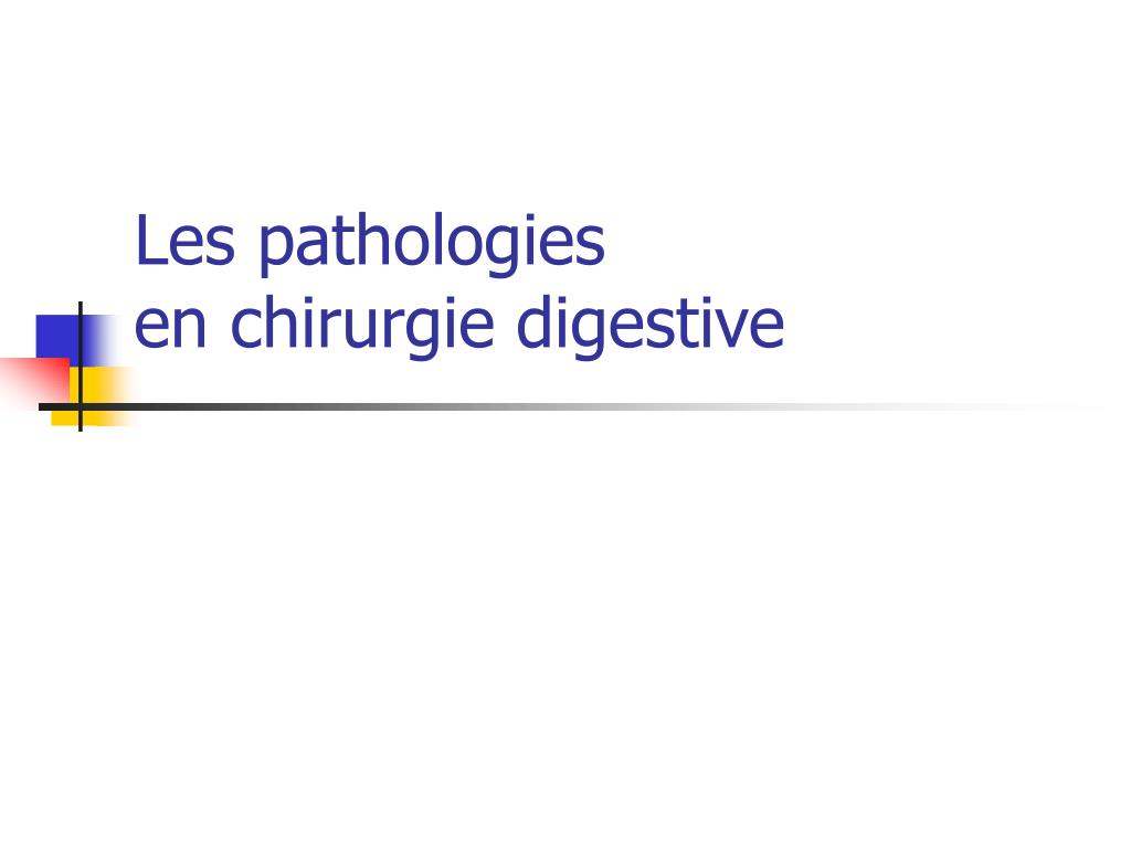 Les pathologies