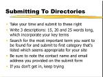 submitting to directories16