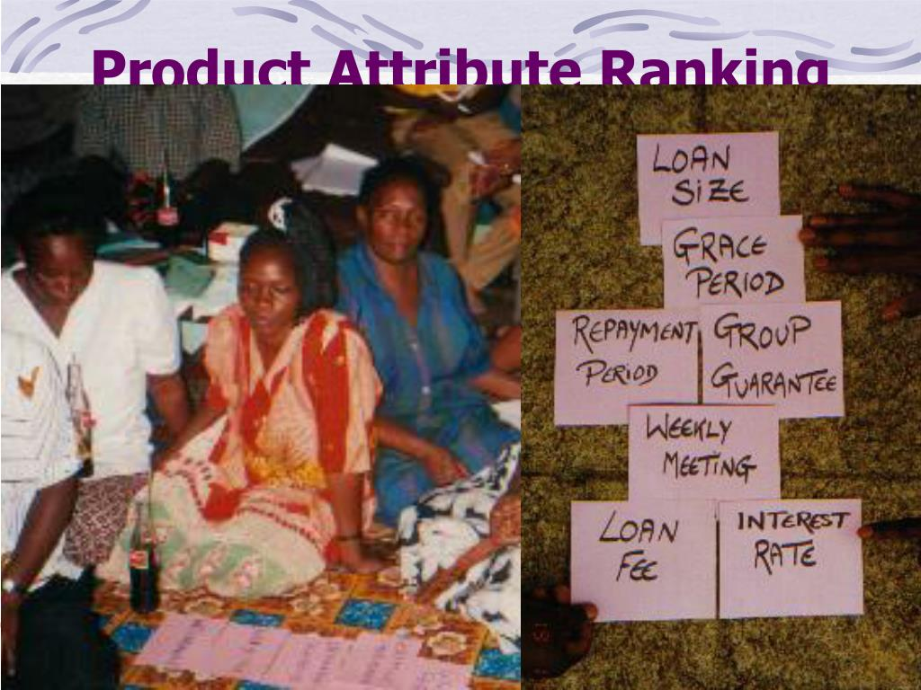 Product Attribute Ranking