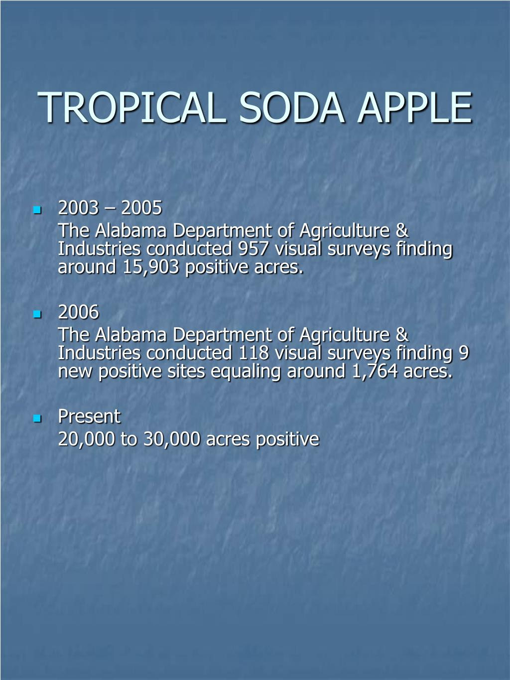 TROPICAL SODA APPLE