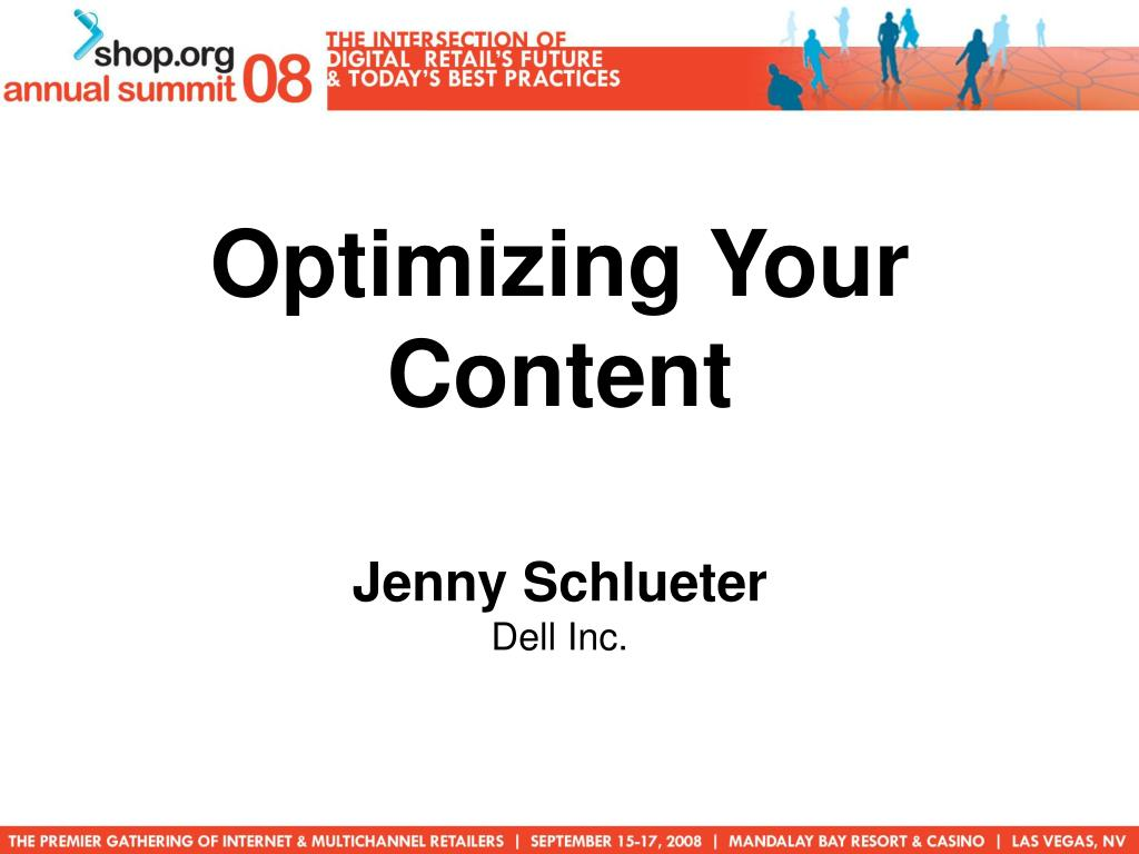 Optimizing Your Content