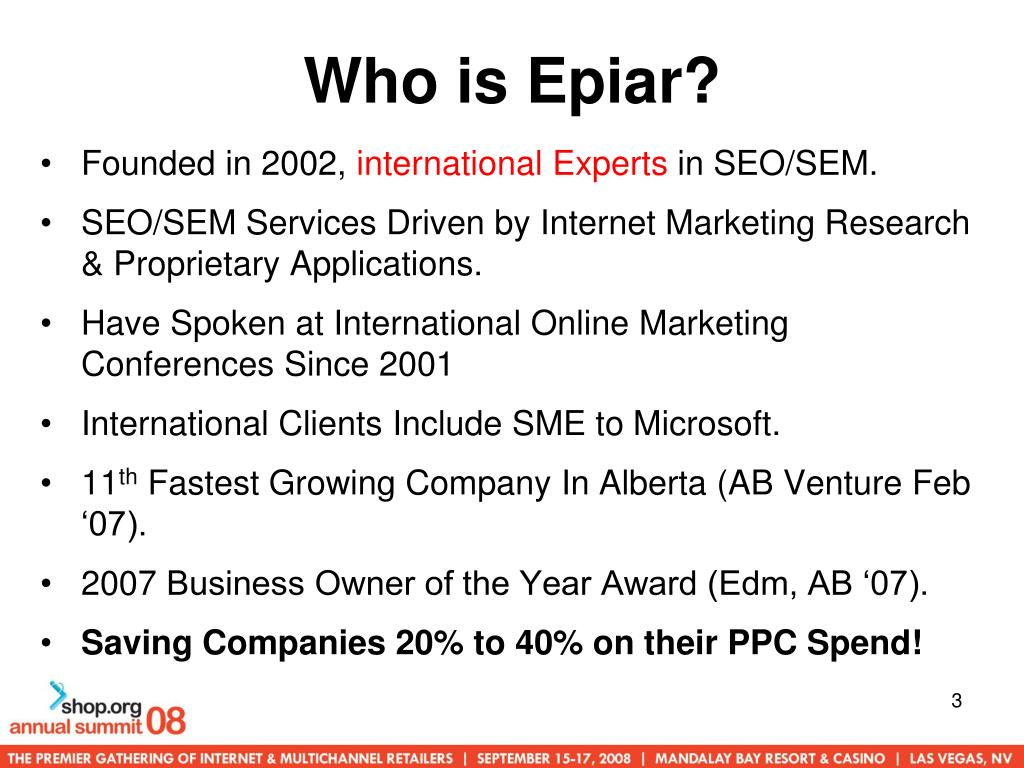 Who is Epiar?