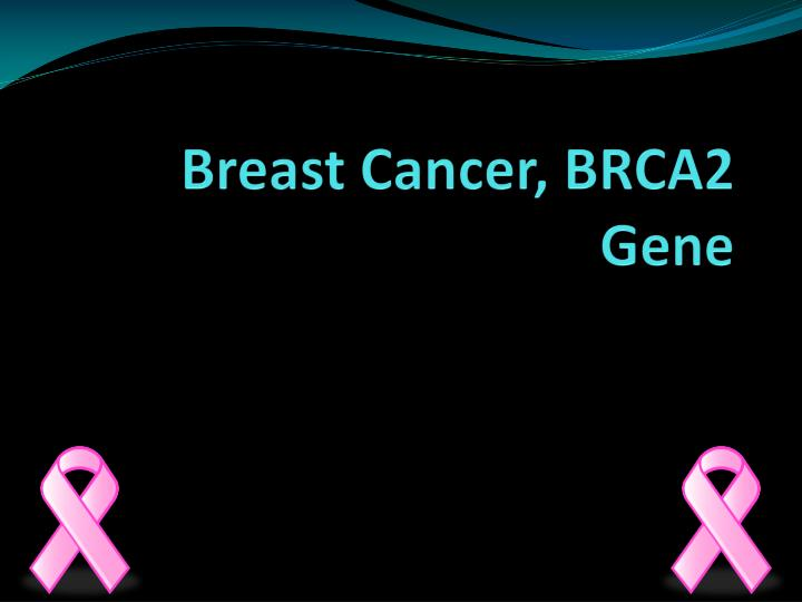 Breast cancer brca2 gene