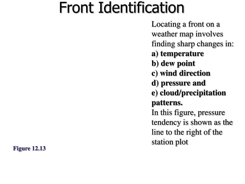 Front Identification