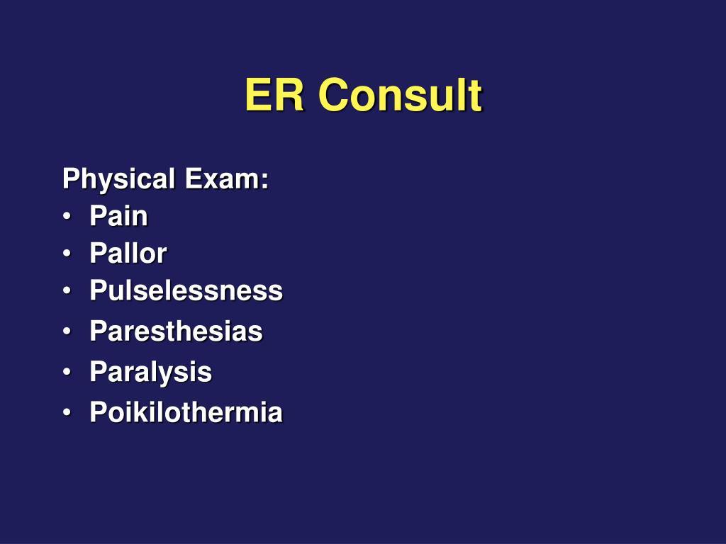 ER Consult