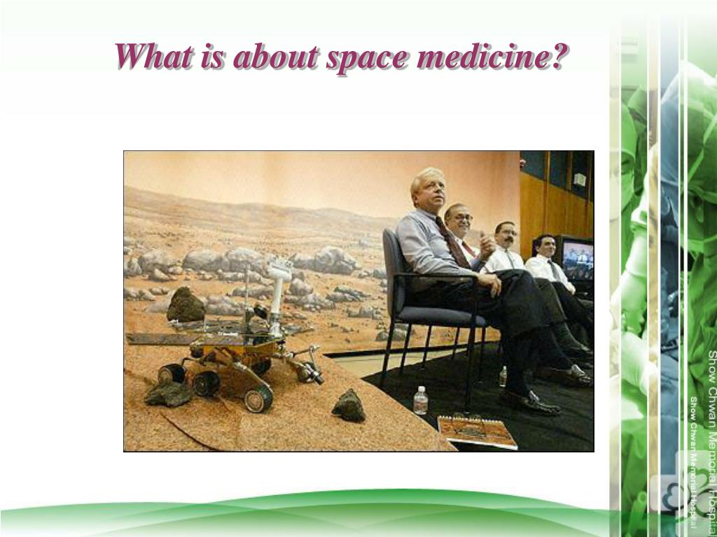 What is about space medicine?