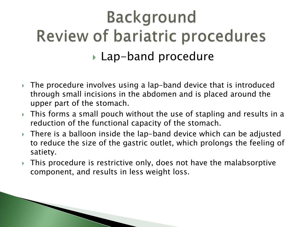 Lap-band procedure