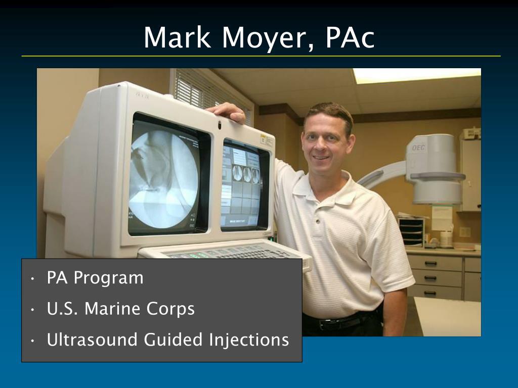 Mark Moyer, PAc