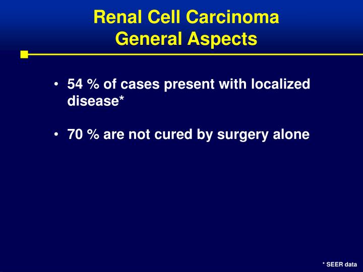 Renal cell carcinoma general aspects3