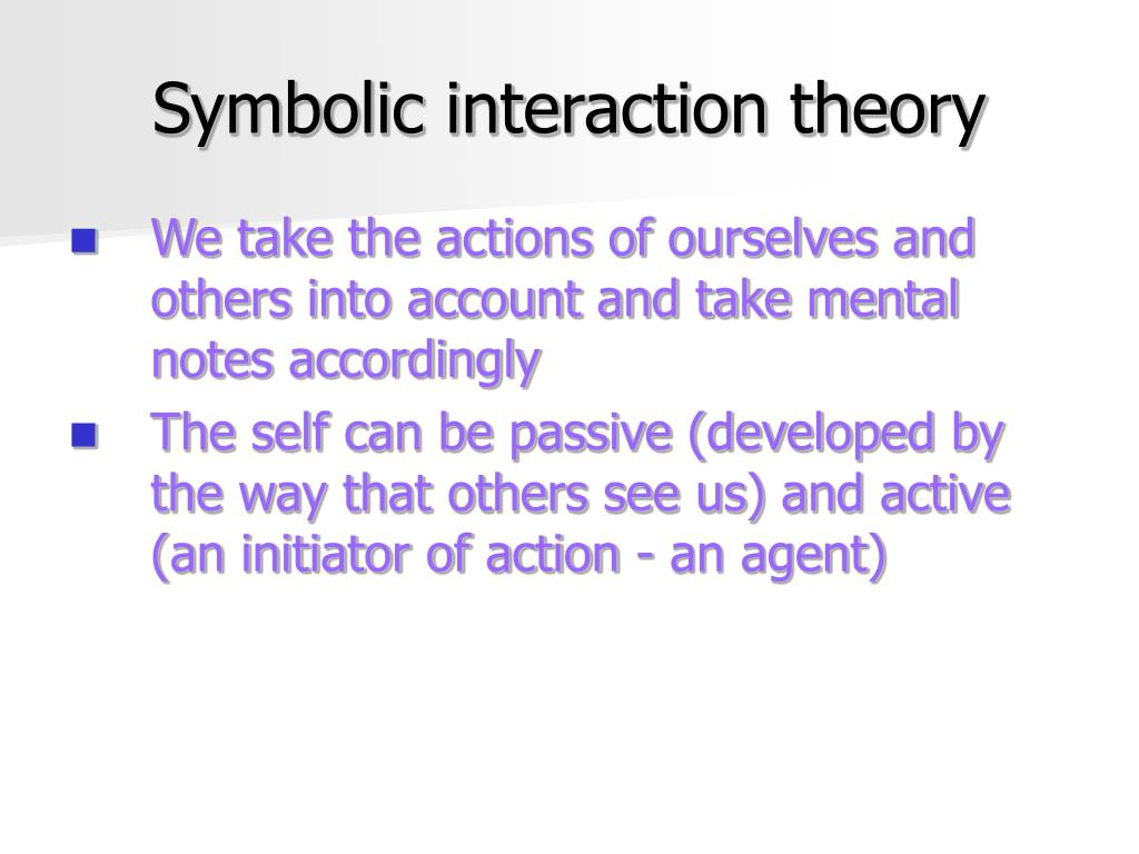 using the symbolic interaction and the Introduction while the history of symbolic interactionism stretches back through the 20th century, it emerged as a prominent theoretical perspective in american sociology during the 1960s.