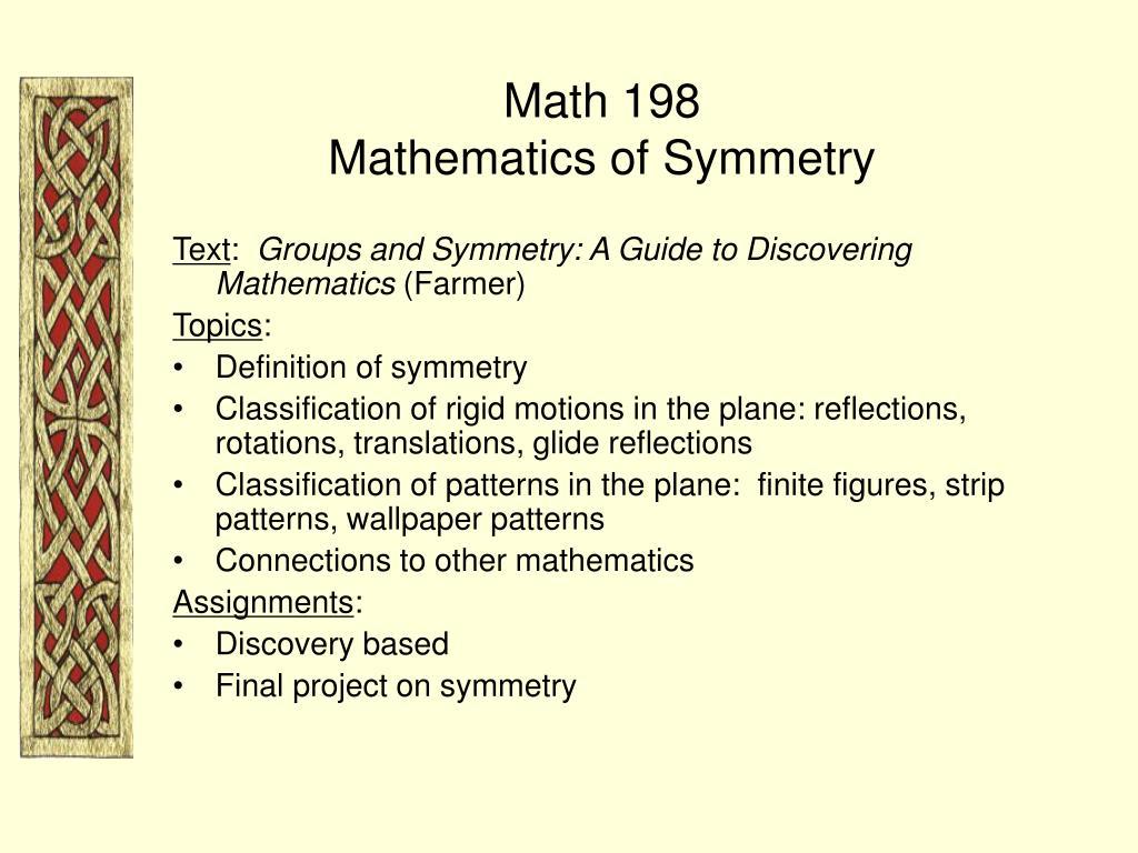 Math 198