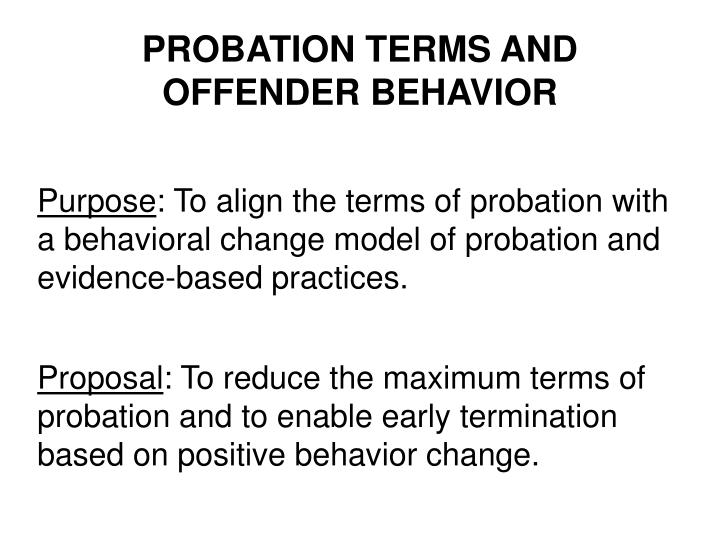 terms of probation of sex offenders desire warmth