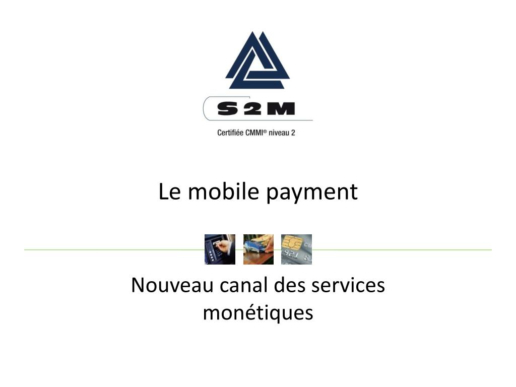 Le mobile payment
