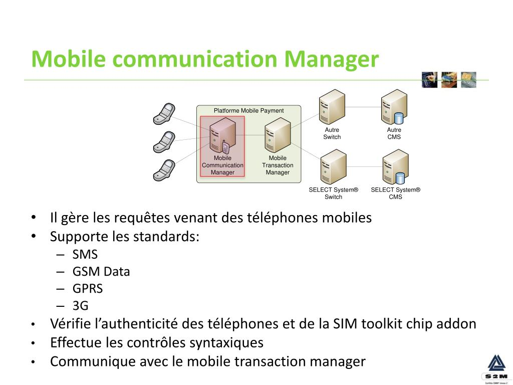 Mobile communication Manager