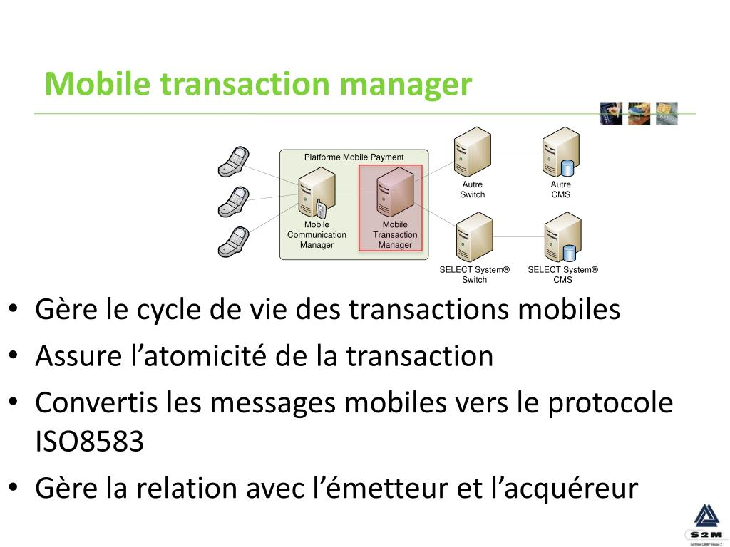Mobile transaction manager