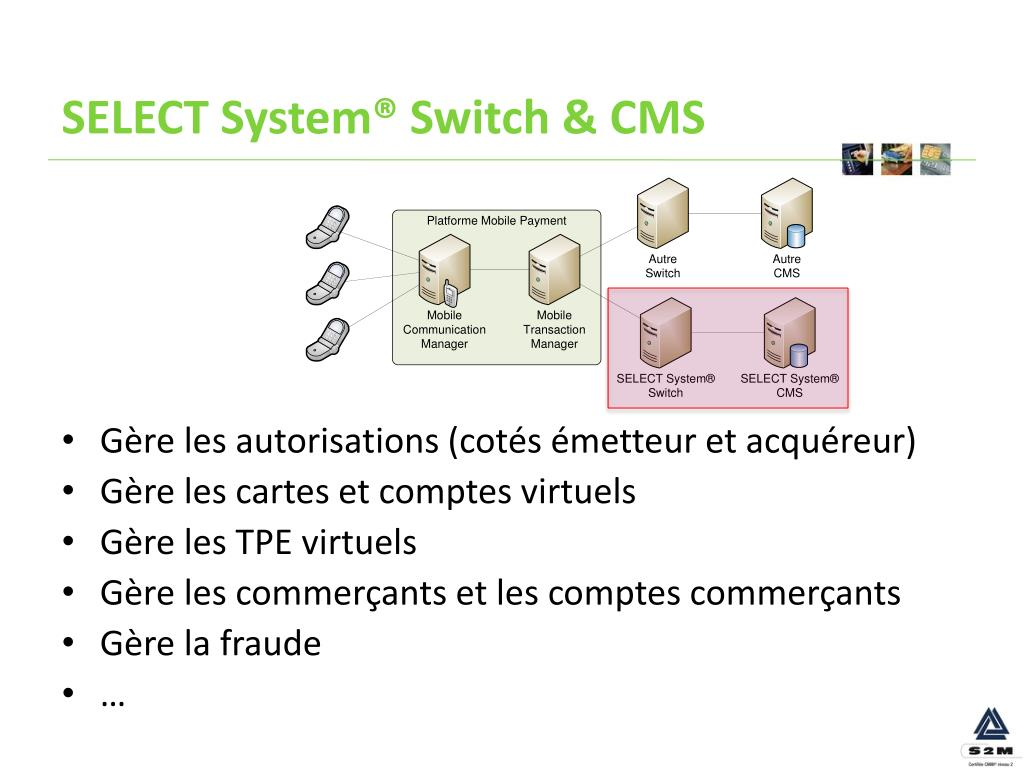 SELECT System® Switch & CMS