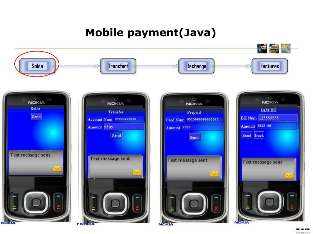 Mobile payment(Java)