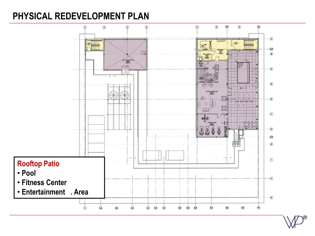 PHYSICAL REDEVELOPMENT PLAN