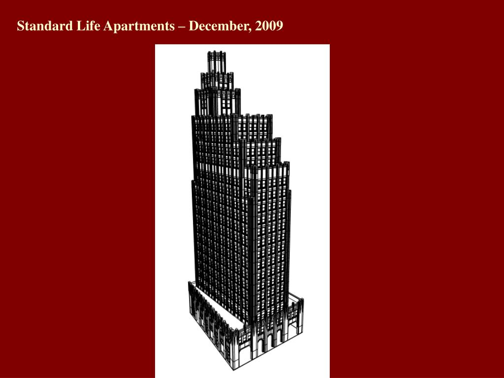 Standard Life Apartments – December, 2009