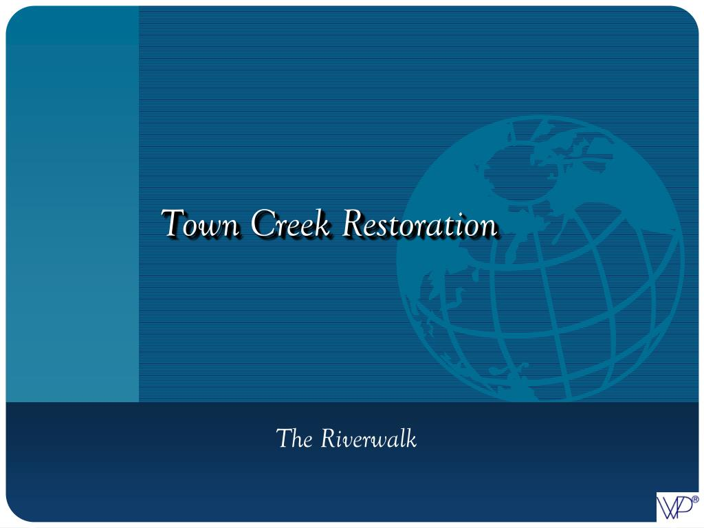 Town Creek Restoration