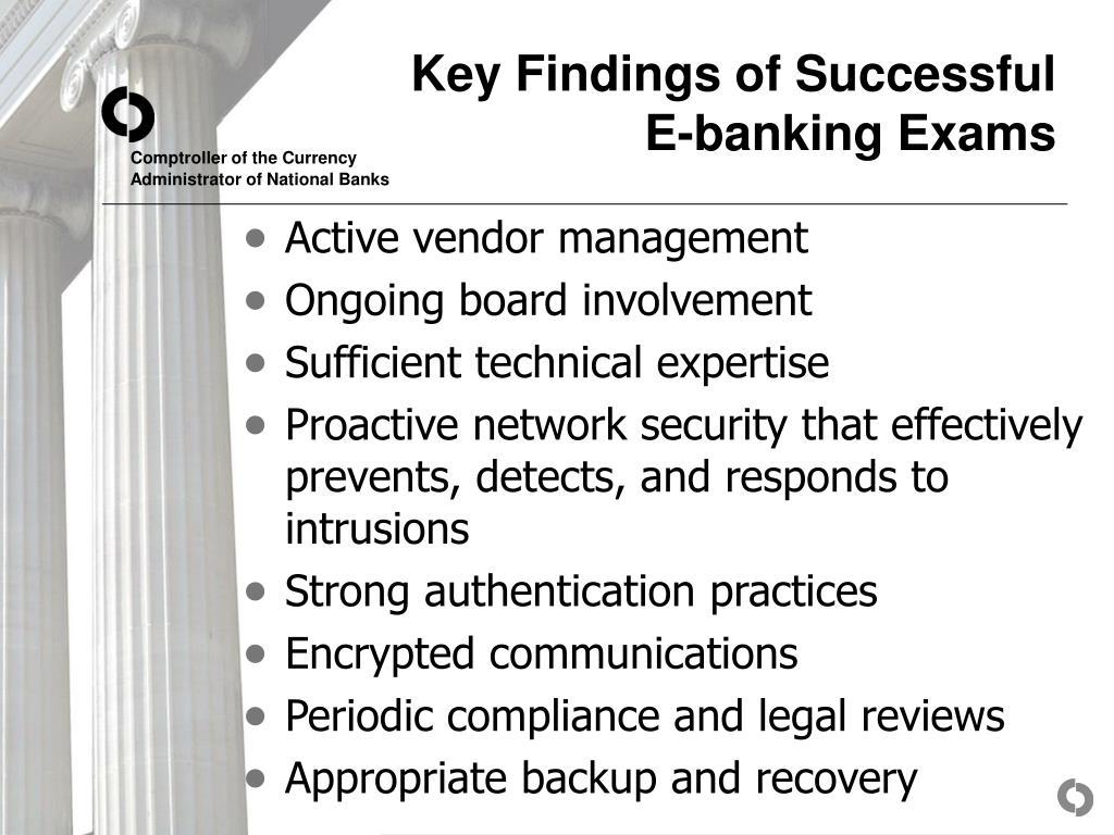 Key Findings of Successful