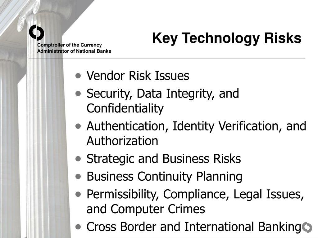 Key Technology Risks