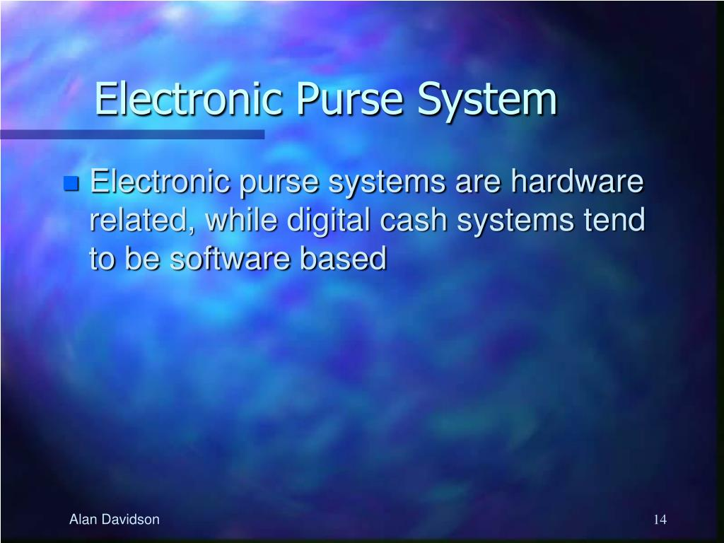 Electronic Purse System