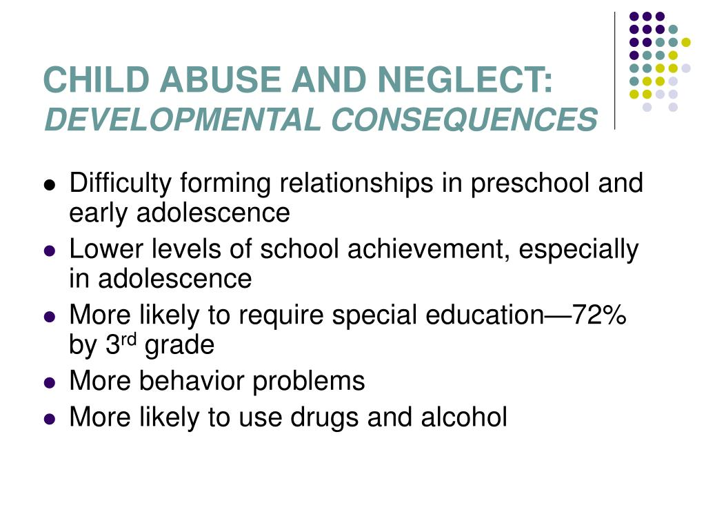 CHILD ABUSE AND NEGLECT: