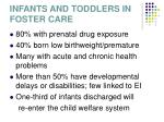 infants and toddlers in foster care
